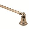 Moen Kingsley Antique Bronze Single Towel Bar (Common: 24-in; Actual: 26.22-in)