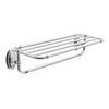 Moen Kingsley Chrome Rack Towel Bar (Common: 24-in; Actual: 26-in)