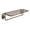 Moen Kingsley Oil-Rubbed Bronze Rack Towel Bar (Common: 24-in; Actual: 26-in)