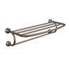 Moen Eva Oil-Rubbed Bronze Rack Towel Bar (Common: 24-in; Actual: 26.26-in)
