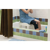 Moen Home Care Glacier Plastic Freestanding Shower Seat