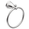 Moen Caldwell Chrome Wall-Mount Towel Ring