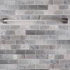Moen Boardwalk Spot Resist Brushed Nickel Single Towel Bar (Common: 24-in; Actual: 26.06-in)