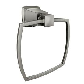 Moen Boardwalk Spot Resist Brushed Nickel Wall-Mount Towel Ring