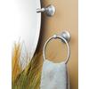 Moen Sage Spot Resist Brushed Nickel Wall Mount Towel Ring