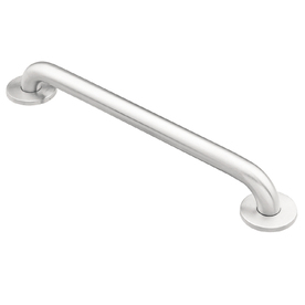 Moen Home Care 18-in Stainless Steel Wall Mount Grab Bar