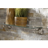 Moen Sage Spot Resist Brushed Nickel Metal Bathroom Shelf