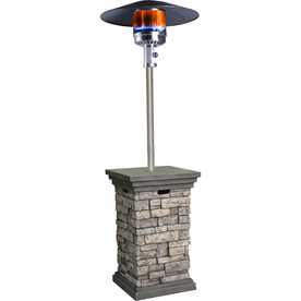 Bond 42,000-BTU Stone Composite Liquid Propane Patio Heater