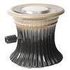 Bond 7.09-in W 12,000-BTU Brown/Cream Ceramic Propane Gas Firebowl