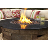 Bond Canyon Ridge 36.6-in W 50,000-BTU Brown Composite Propane Gas Fire Column
