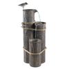 Garden Treasures Sandpiper 3-Tier Outdoor Fountain with Pump