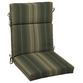 allen + roth Stripe Cushion For High-Back Chair