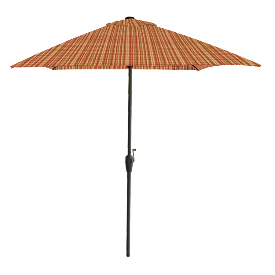 townsend gold rectangular patio umbrella at