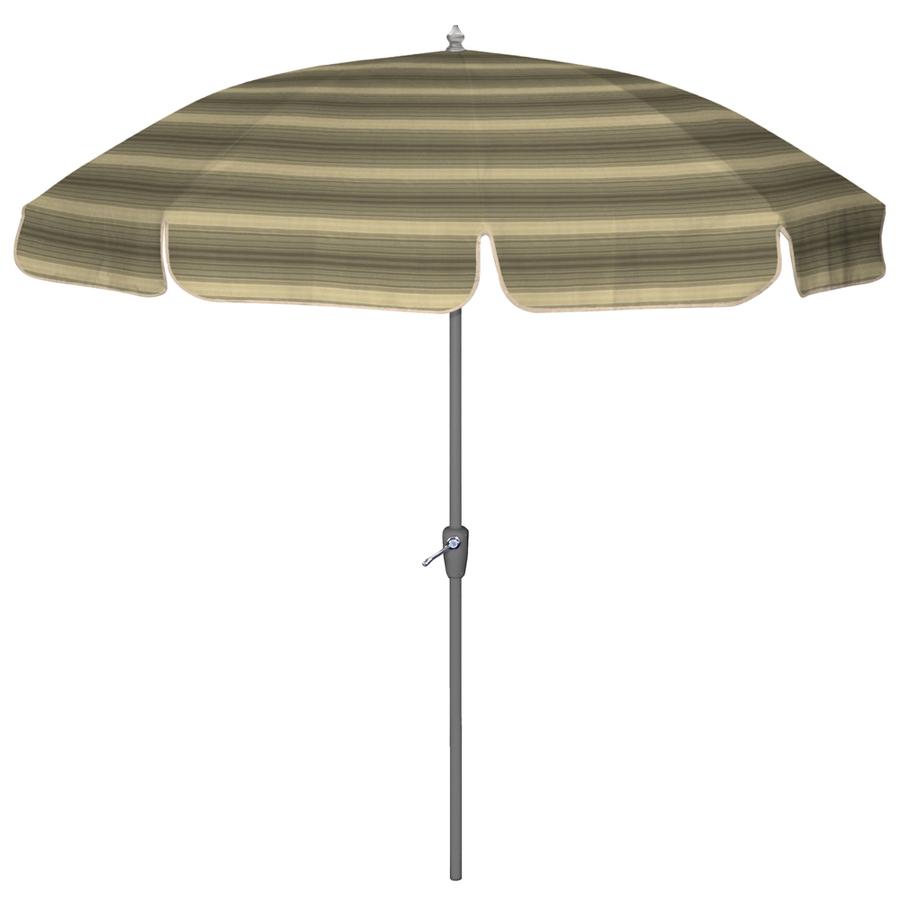 shop arden outdoor 7 39 4 w olefin stripe patio umbrella at