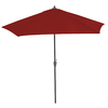 9-ft Red Round Market Umbrella