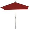 11-ft Red Round Market Umbrella