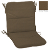 allen + roth 36.5-in L x 19.5-in W Rust Texture Patio Chair Cushion