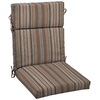 allen + roth 46-in L x 22-in W Stripe Stone Chair Cushion