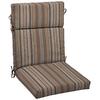 allen + roth 46-in L x 22-in W Stripe Stone Chair Cushion