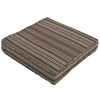Striped Stone Reversible Outdoor Seat Pad