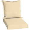 41-in L x 21-in W Canvas Solid Chair Cushion