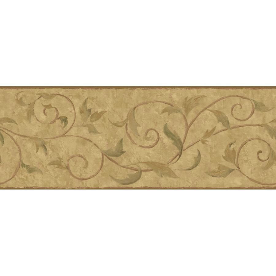 shop york wallcoverings 9 vine scroll prepasted wallpaper