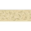 "York Wallcoverings 9"" Vine Scroll Prepasted Wallpaper Border"