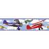 RoomMates Vintage Planes Peel and Stick Wallpaper Border