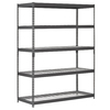 edsal 72-in H x 60-in W x 18-in D 5-Tier Wire Freestanding Shelving Unit