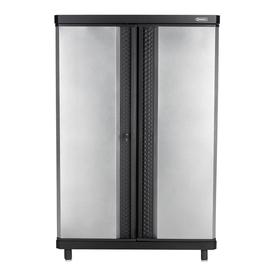 Kobalt 48-in W x 72-in H x 20-in D Steel Freestanding Garage Cabinet