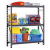 edsal 72-in H x 60-in W x 18-in D 3-Tier Steel Freestanding Shelving Unit
