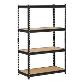 edsal 60-in H x 36-in W x 18-in D 4-Tier Steel Freestanding Shelving Unit