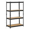 edsal 60-in H x 36-in W x 18-in D 4-Tier Steel Freestanding Shelving Unit