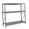 edsal 72-in H x 72-in W x 36-in D 3-Tier Steel Freestanding Shelving Unit