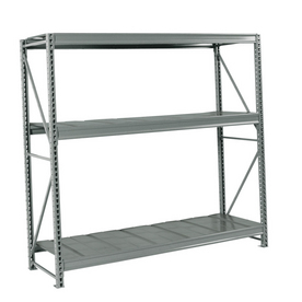 edsal 72-in H x 96-in W x 48-in D 3-Tier Steel Freestanding Shelving Unit