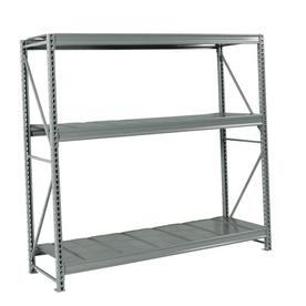 edsal 96-in H x 72-in W x 24-in D 3-Tier Steel Freestanding Shelving Unit