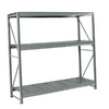 edsal 120-in H x 72-in W x 24-in D 3-Tier Steel Freestanding Shelving Unit