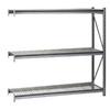 edsal 96-in H x 60-in W x 36-in D 3-Tier Steel Freestanding Shelving Unit