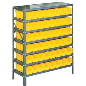 edsal 36-in W x 12-in D x 42-in H Plastic Bin/Small Parts Storage