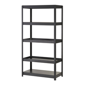 edsal 72-in H x 36-in W x 18-in D Steel Freestanding Shelving Unit