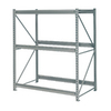 edsal 96-in H x 60-in W x 48-in D 3-Tier Steel Freestanding Shelving Unit