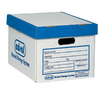 edsal 12-in W x 15-in D x 10-in H 15 Record Storage Boxes