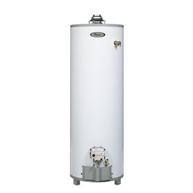 Whirlpool 6th Sense Technology 50-Gallon 9-Year Tall Gas Water Heater (Natural Gas)