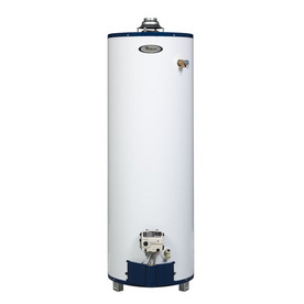 Whirlpool 50-Gallon 6-Year Residential Tall Natural Gas Water Heater