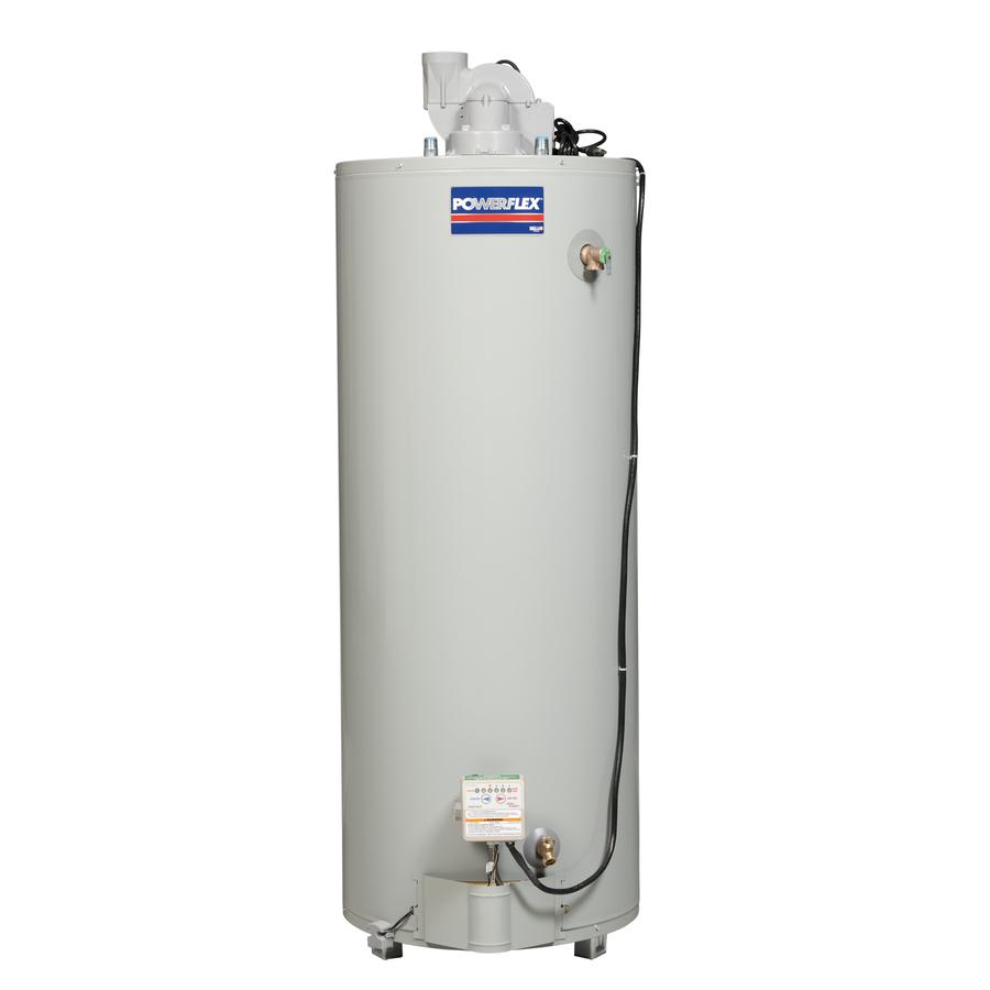shop powerflex 50 gallon 6 year tall gas water heater