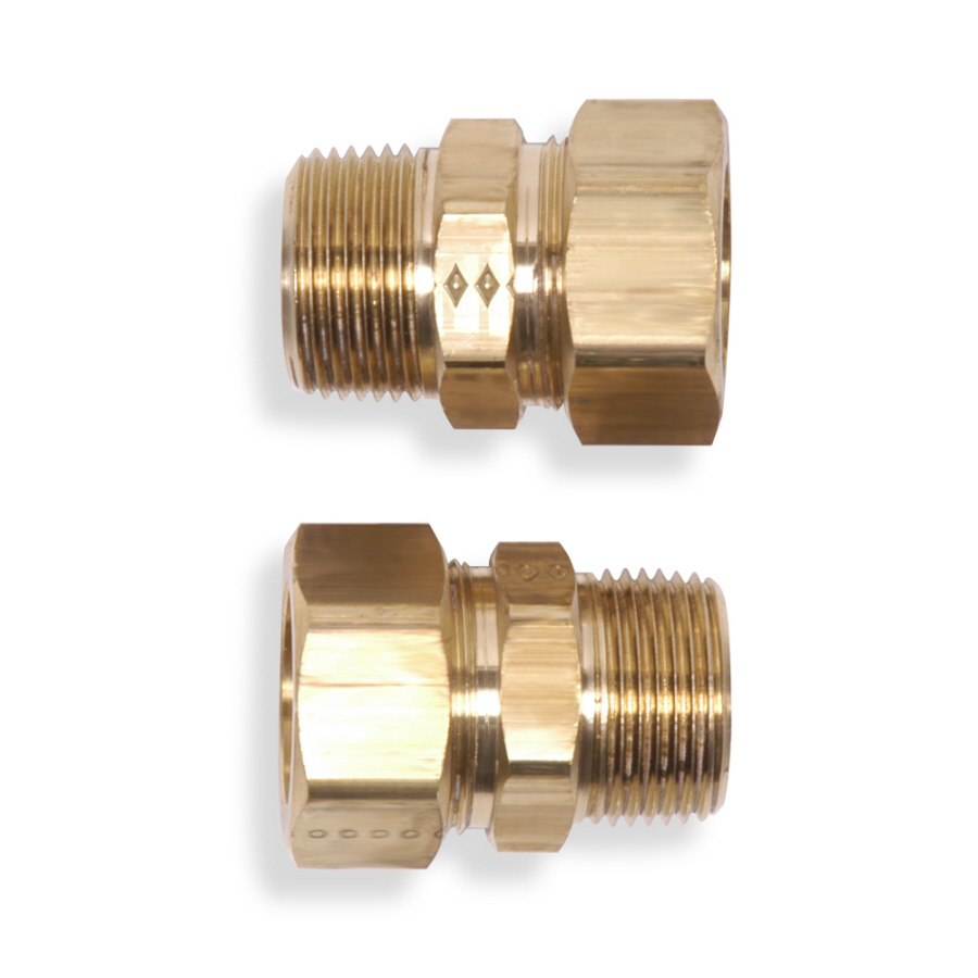 Shop whirlpool quot brass compression fittings at lowes