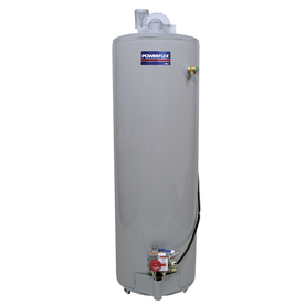 POWERFLEX 50-Gallon 6-Year Residential Tall Liquid Propane Water Heater