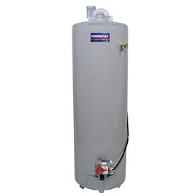 POWERFLEX 50-Gallon 6-Year Tall Gas Water Heater (Liquid Propane)