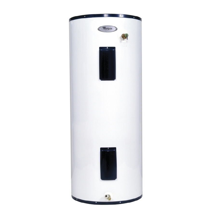Shop Whirlpool 80 Gallon 6 Year Tall Electric Water Heater
