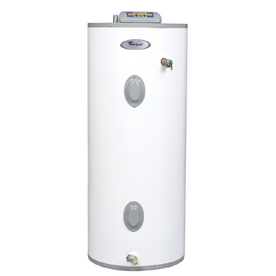 shop whirlpool 40 gallon 9 year electric water heater at